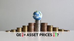 Will asset prices fall as QE unwinds?